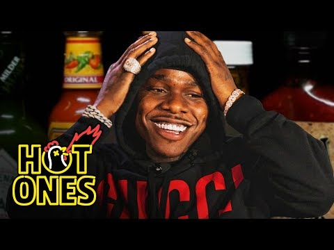 Download DaBaby Crushes Ice Cream While Eating Spicy Wings | Hot Ones HD Mp4 3GP Video and MP3