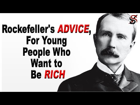 , title : 'John D Rockefeller's Advice for Young People Who Want to Be Rich
