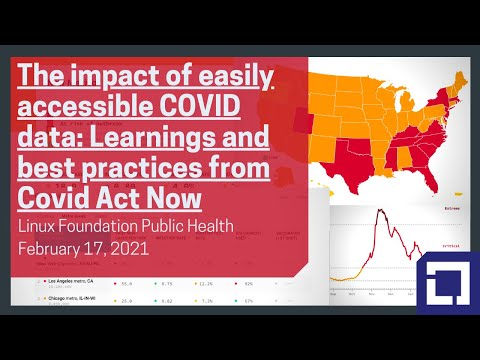The impact of easily accessible COVID data: Learnings and best practices from Covid Act Now