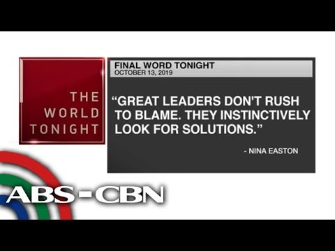 [ABS-CBN]  Final Word – October 13, 2019 | ANC