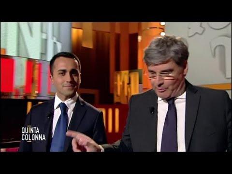 Di Maio a Quinta Colonna: &quotNon possiamo più affidarci a chi ha già governato&quot