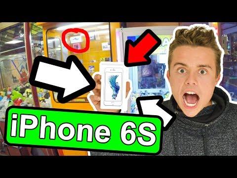 iPHONE 6S Automat 📱-  Greifautomat Gewinn - Claw Machine (Greifer gegen Harry) THEBIGHARRY