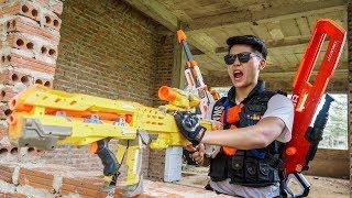 Video LTT Nerf War : SEAL X Warriors Nerf Guns Fight Dr Lee Group Armed Bandits Hunter MP3, 3GP, MP4, WEBM, AVI, FLV September 2019