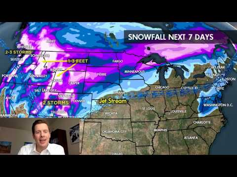 2.15 Snow Before You Go: Storm Cycle Reboots for West - © Meteorologist Chris Tomer