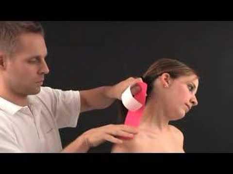 Massage der Halswirbelsäule bei Hypertonie