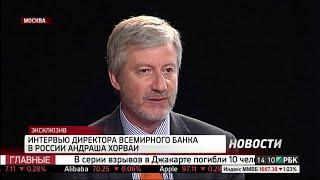 Андраш Хорваи: «Российские предприятия могут воспользоваться слабым рублем»