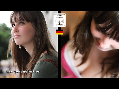 【 Stopkiddinstudio】超胸德國美女來台灣13天的感想