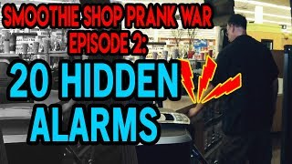 Smoothie Shop Prank War Episode 2: Hidden Alarms