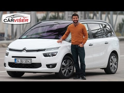 Citroen C4 Grand Picasso Test Sürüşü