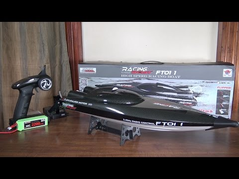 Feilun – FT011 Brushless High Speed Boat – Review and Run