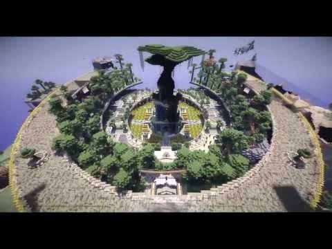 Minecraft Garden babylon hanging garden minecraft project