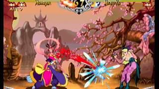 Darkstalkers Resurection Demo Gameplay