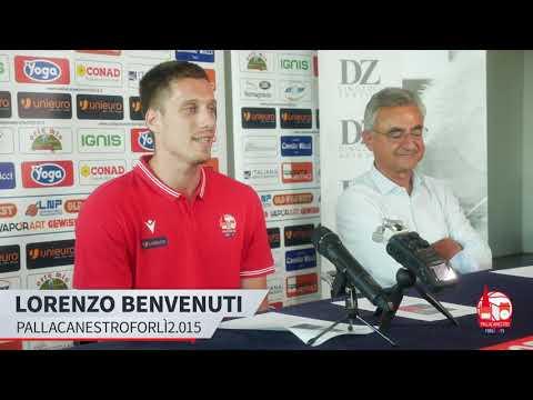 La presentazione di Lorenzo Benvenuti