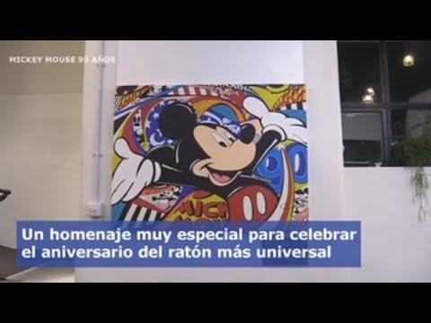 Londres celebra los 90 años de Mickey Mouse