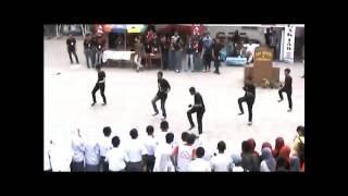 preview picture of video 'Perform + Flashmob Salis Shuffle Dance @TEGAK159 SMA NEGERI 1 SUNGGUMINASA'