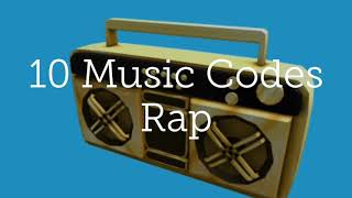 music codes for roblox rap