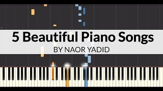 5 Beautiful Piano Songs (Piano Tutorial)