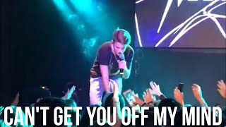 MattyB - Can't Get You Off My Mind (Live in NYC)