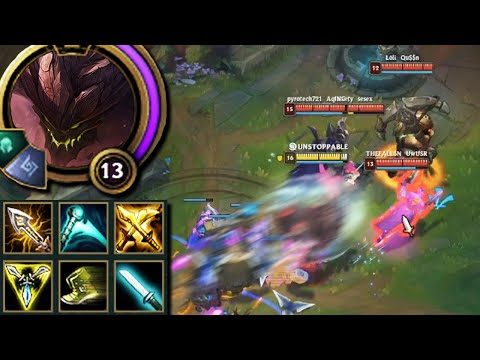 League of Legends but this is the last thing you expect to see on a Malphite before they one shot u