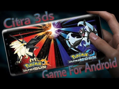 Download Pokemon Ultra Moon + Android iOS Emulator Gameplay