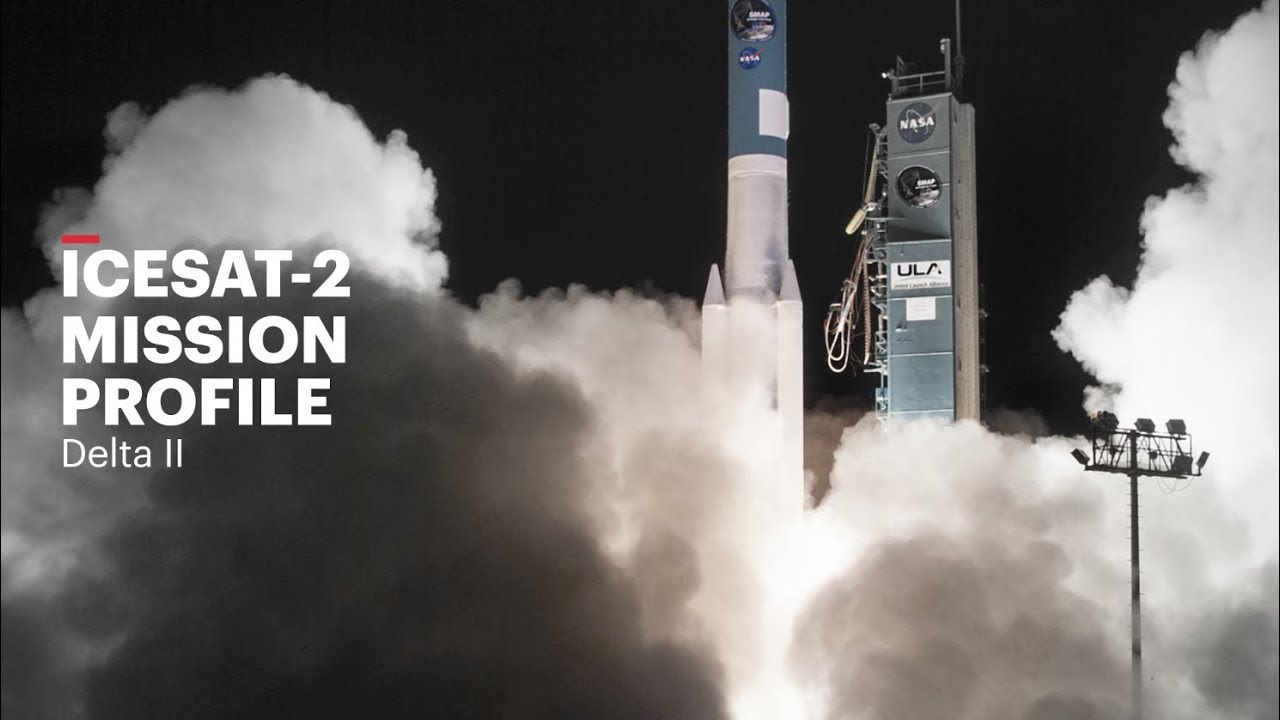 Трансляция: NASA запустит спутник ICESat-2 для изучения ледяного покрова Земли