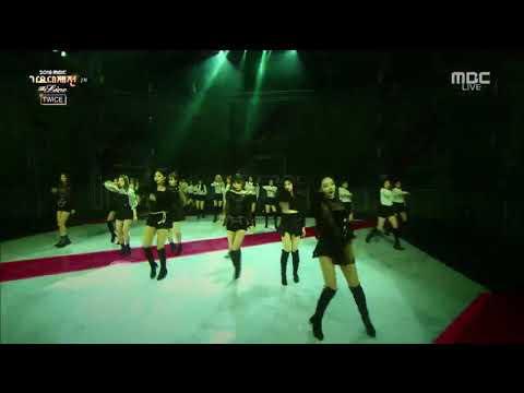 190101 MBC Gayo Daejejeon TWICE - 'Dance Break + Dance The Night Away' Full Performance