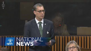 Green Mp Asks The Government About The Rcmp Raid   Aptn News
