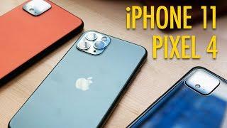 Pixel 4 vs.  iPhone 11 — FIGHT!