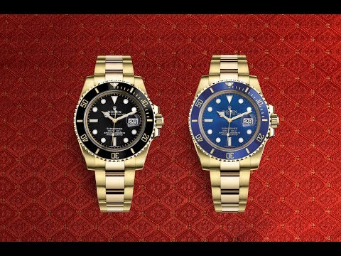 Review: Rolex Submariner Date in Yellow and White Gold