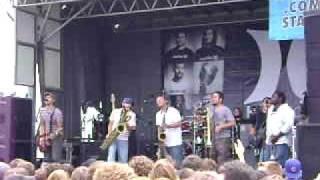 "Streetlight Manifesto - ""Failing, Flailing"" @ 2009 Vans Warped Tour Toronto"