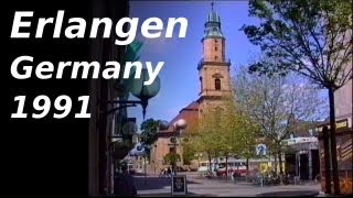 preview picture of video 'Erlangen - A not very well known City in Germany'