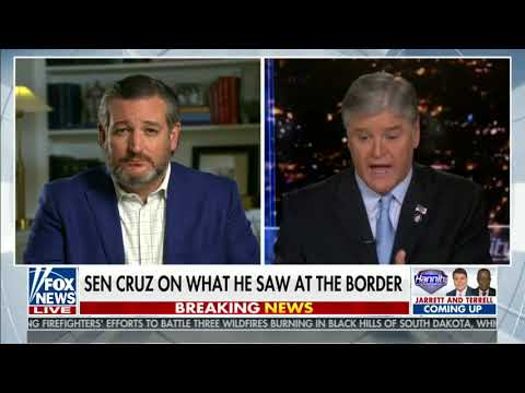 Sen. Cruz on Fox: President Biden's Decisions Created This Border Crisis