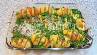 Запеченная рыба в духовке .# Блюда из рыбы
