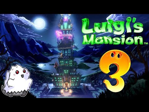 [LIVE] THE UPPER FLOORS | Luigi's Mansion 3 | #4 | Blind | Nintendo Switch | Come hang out with us!