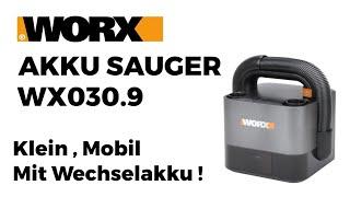 Worx Akkusauger WX030 9