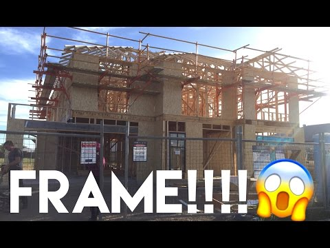 Building Our Dream Home | The Frame is Up!! - Episode 7