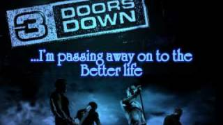 3 Doors Down - Better Life Lyrics