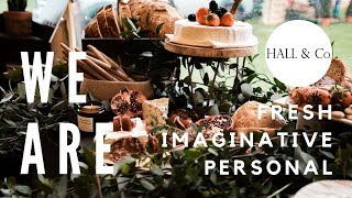 Behind the scenes with Hall & Co. Event Design