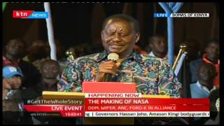 Raila Odinga outlines the consequences that will come from rigging elections