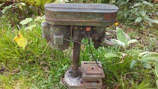 Drill Press Restoration | Bench Drill Restoration