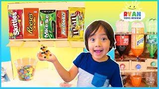 DIY Candy Dispenser and Coca Cola vending Machine