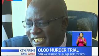 Police officer turned from suspect to witness in journalist, Eric Oloo's murder trial