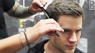 Classic Scissor Cut Short Back & Sides Mens Haircut