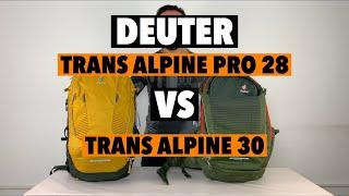Deuter Trans Alpine Pro 28. Обзор и сравнение с обычным Trans Alpine 2020 года.