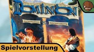 Dominion: Mixbox (Alchemisten & Reiche Ernte) - Erweiterung - Brettspiel - Anleitung