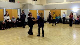 Central Jersey Dance Society No Name dance WCS lesson with Hazel Ulrich 1-20-18
