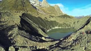 Lago del Miage - Aerial video