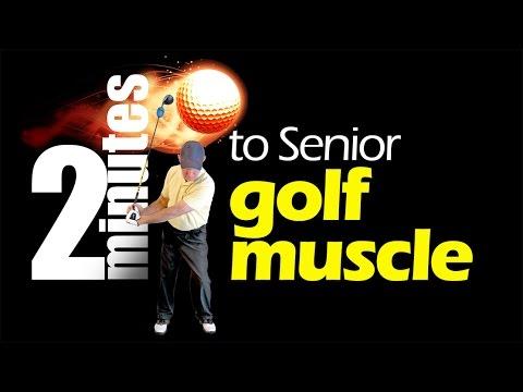 Strength and flexibility exercise for senior golfers