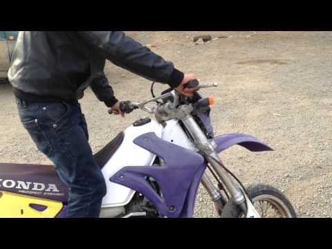 Honda CRM250 Test