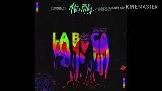 Mau Y Ricky, Camilo, Lunay   La Boca (Remix) (LETRA) | 2019